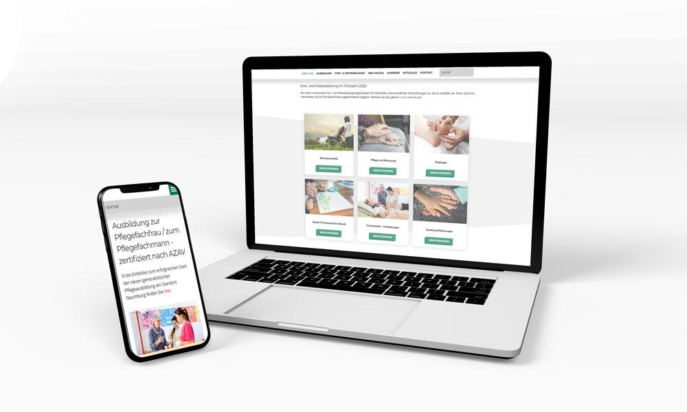 MBA Akademie - Website-Relaunch